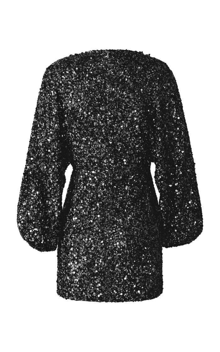 Aubrielle Sequin-Embellished Mini Dress