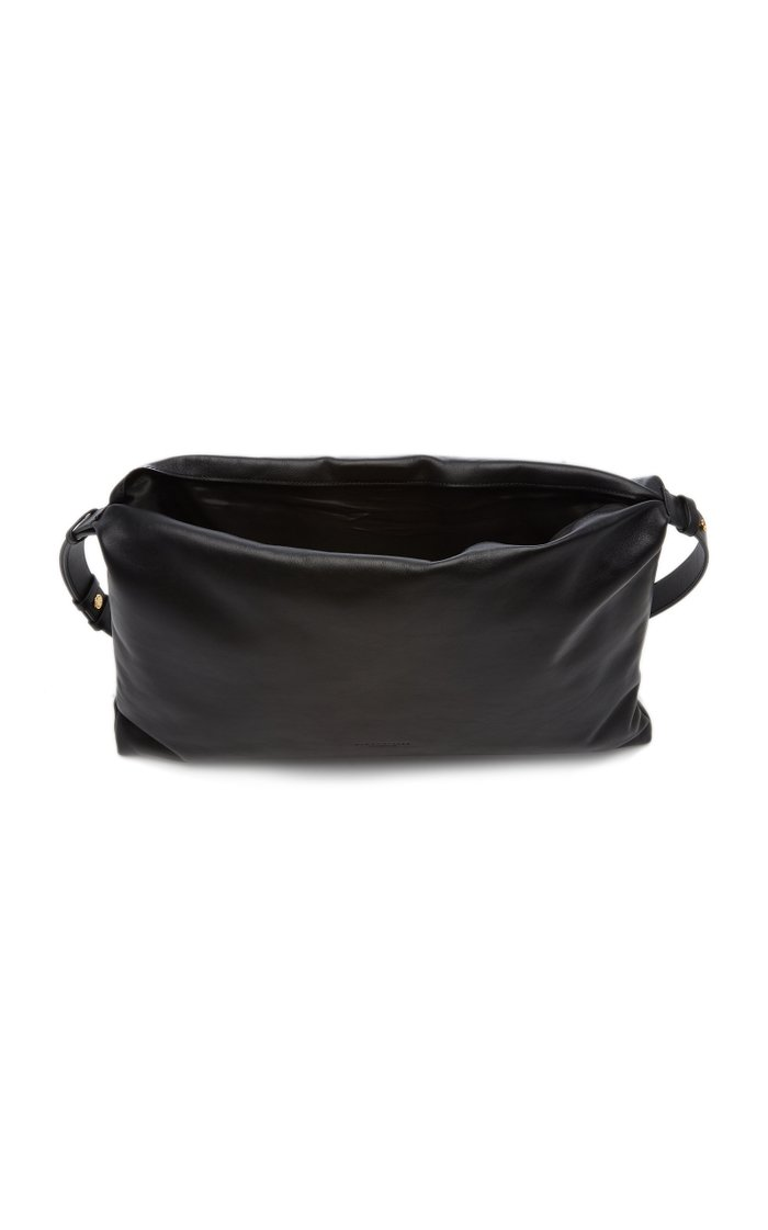 Puffin Large Leather Crossbody Bag