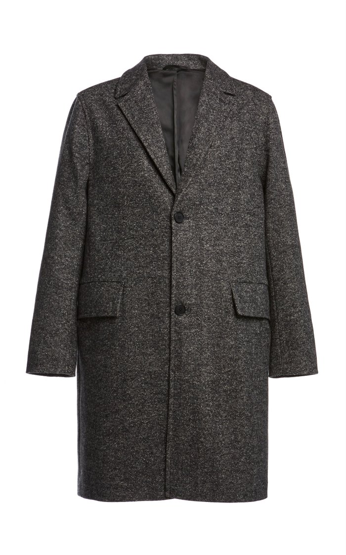 Matt Oversized Coat