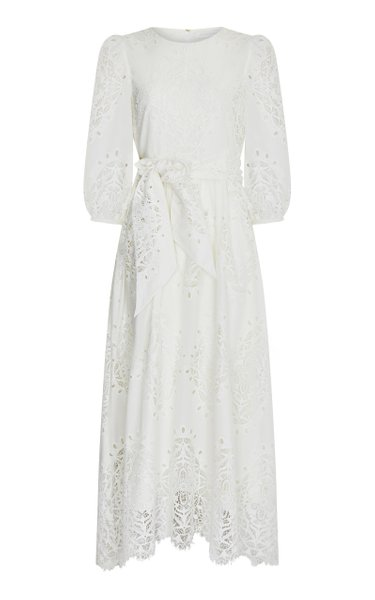 Constance Broderie Anglaise Maxi Dress