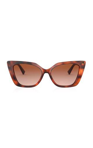 Valentino Garavani Cat-Eye Acetate Sunglasses