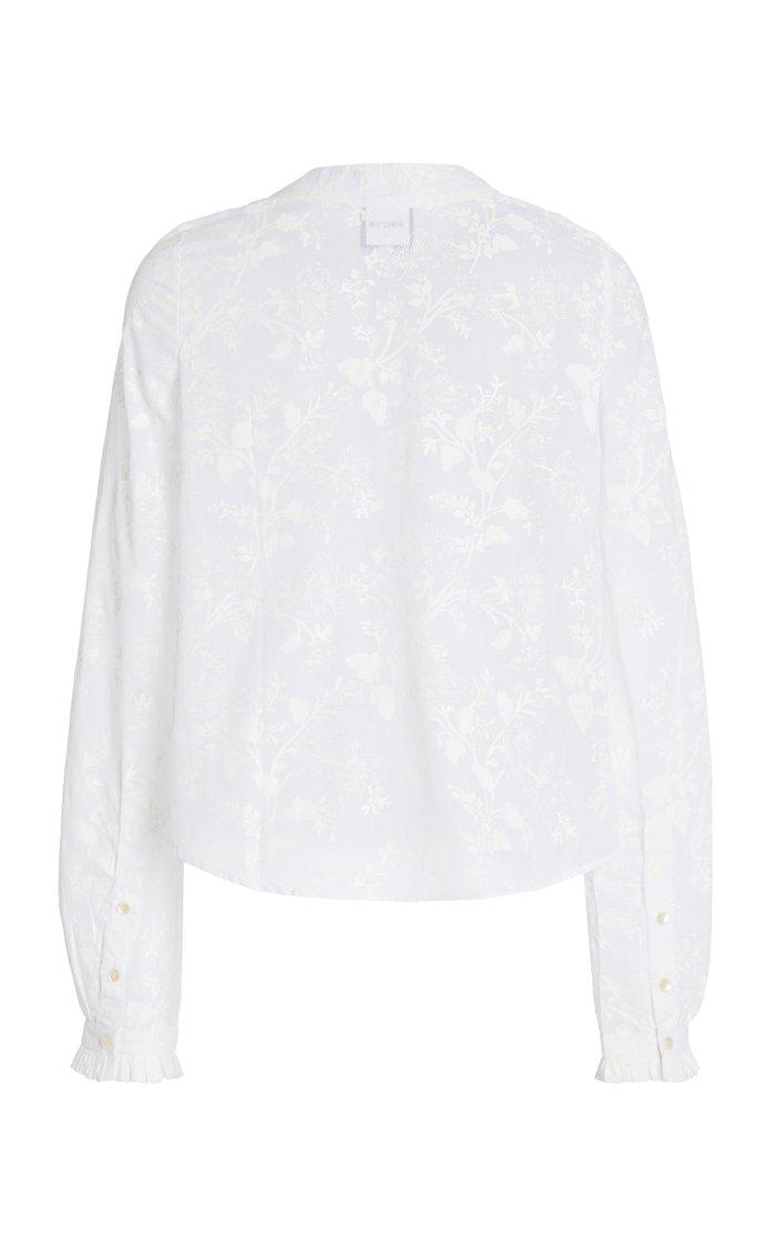 Fantine Floral Cotton Top