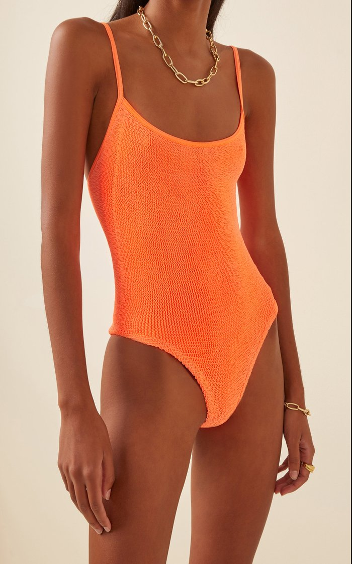 Pamela Textured One-Piece Swimsuit