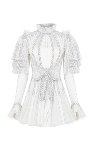 Specialorder-Vanessa Lace Mini Dress-YB