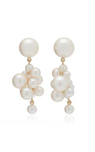 Botticelli Rose Earrings