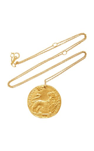 Il Leone 24K Gold-Plated Necklace