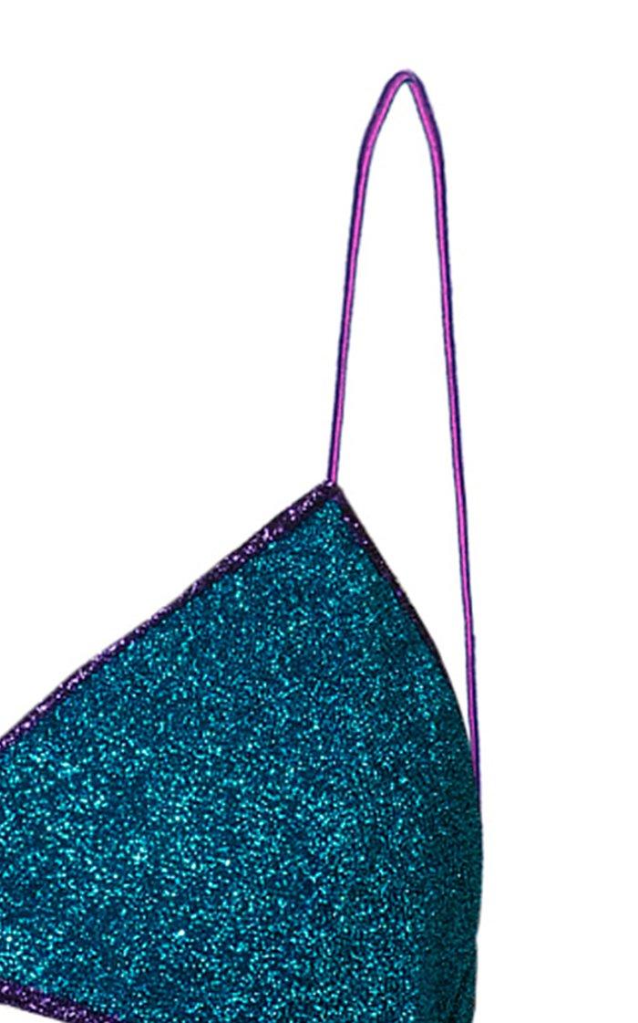 Lumière Stretch-Lurex Bikini Set
