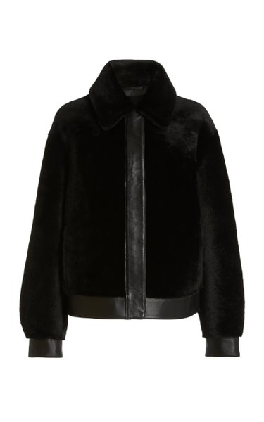 Courage Faux-Shearling Moto Jacket