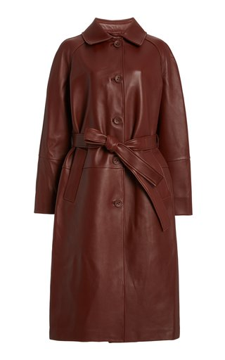 Slow Dance Leather Coat