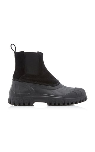 Balbi Suede and Rubber Boots