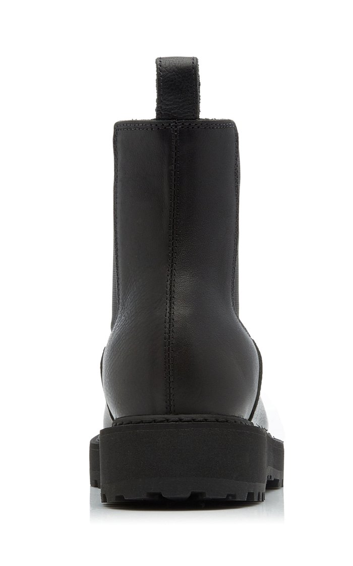 Alberone Leather Chelsea Boots