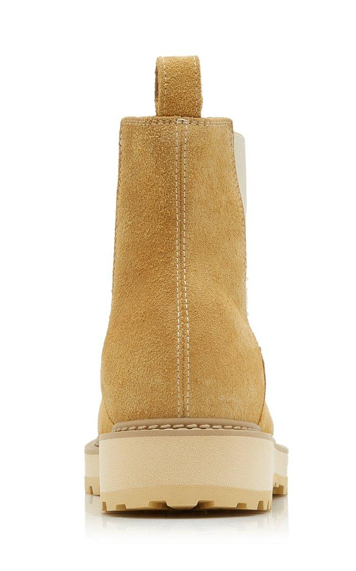 Alberone Suede Chelsea Boots