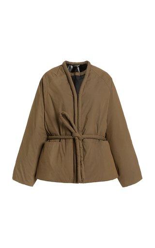 Padded Cotton-Blend Coat