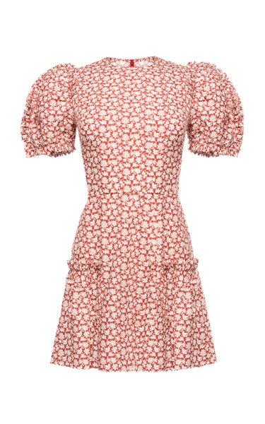 Heartbreak Printed Cotton Mini Dress