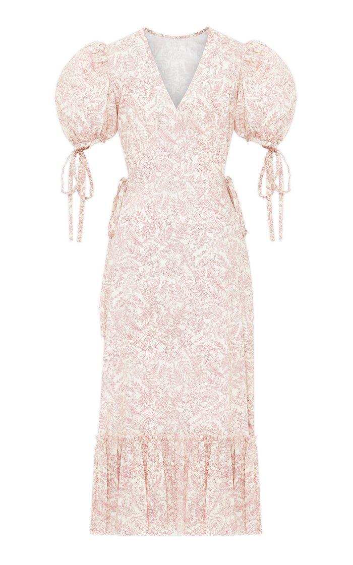 The Honey Trap Printed Cotton Dress