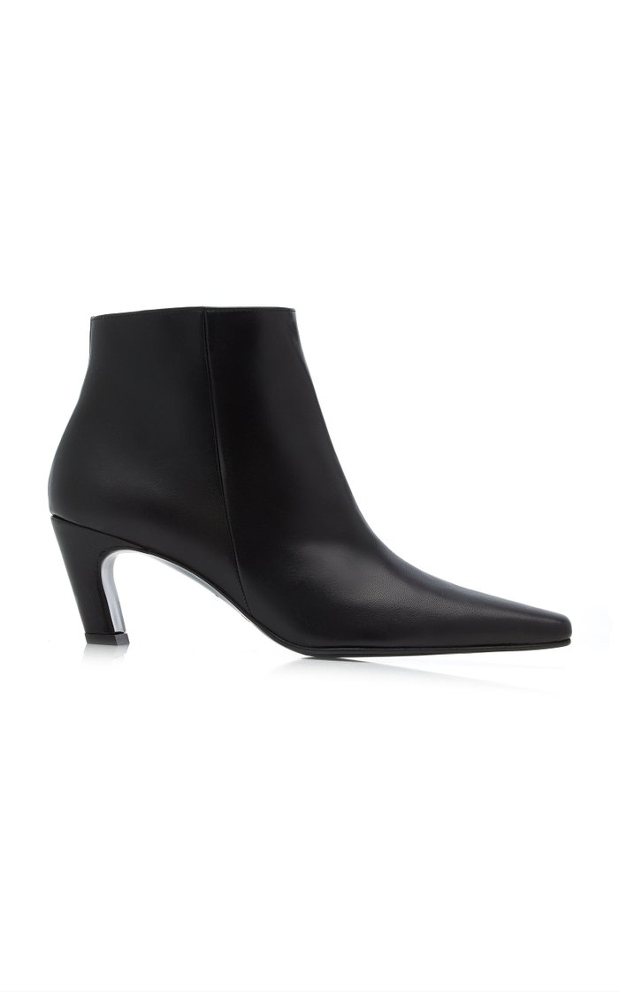 Xenia Leather Ankle Boots