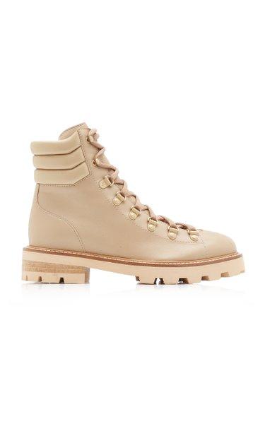 Eshe Leather Combat Boots