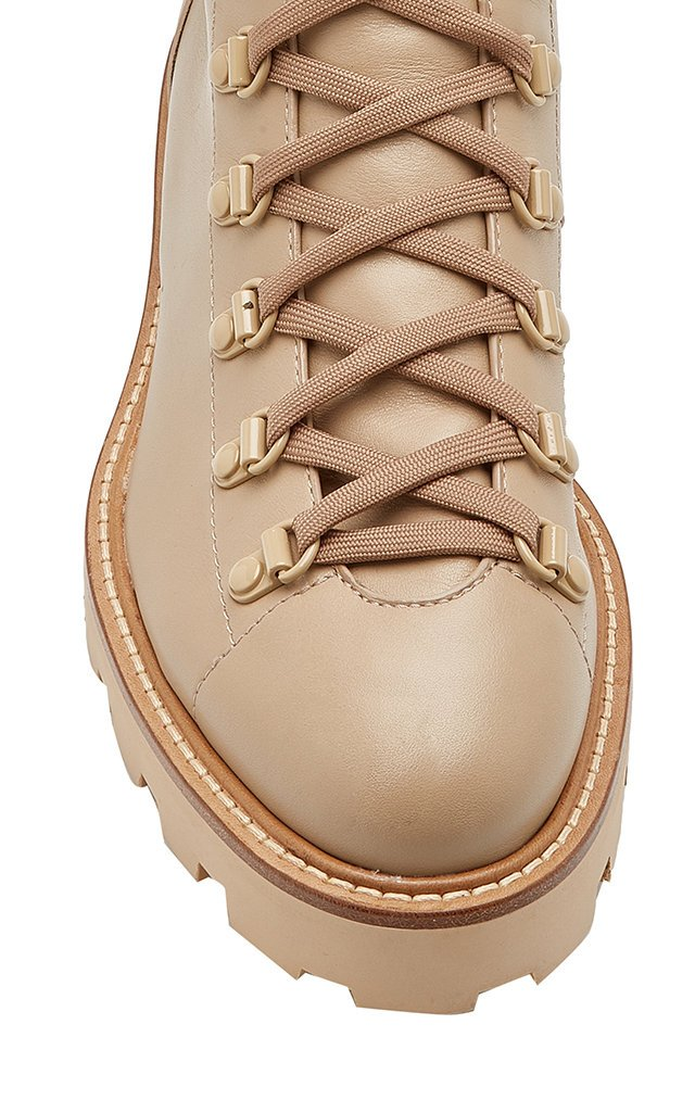 Eshe Leather Combat Boot