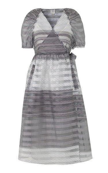Adalaine Chiffon Wrap Dress