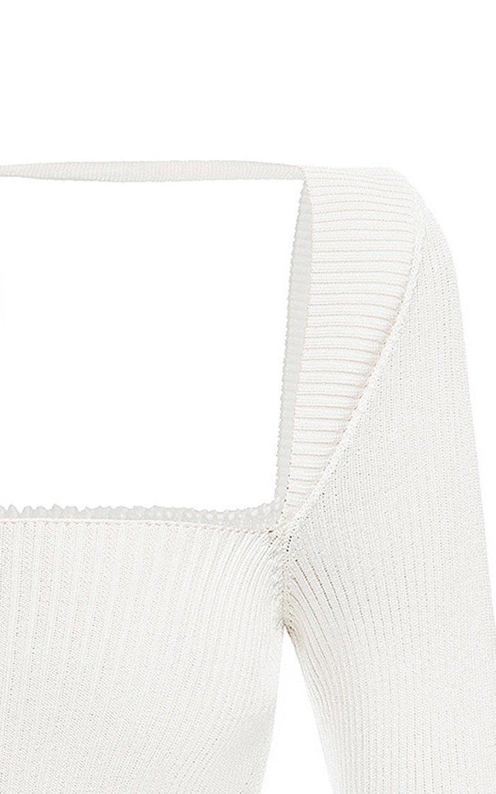 Ingrid Ribbed-Knit Sweater