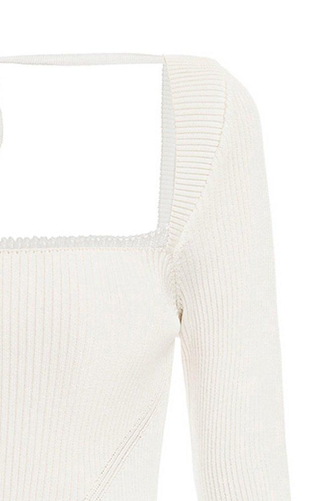Maria Slit Knit Dress
