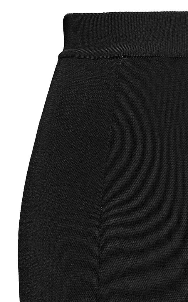 Stretch-Jersey Maxi Skirt