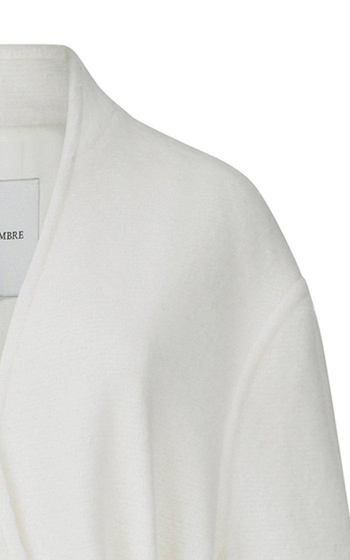 Belted Wool-Blend Coat