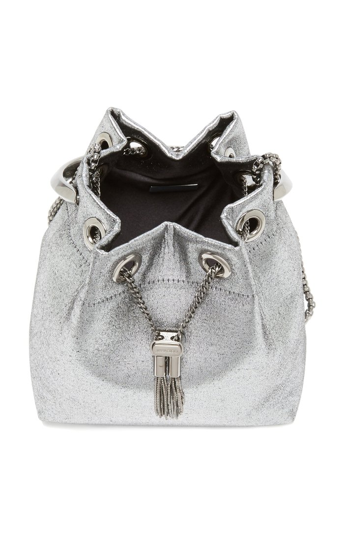 Bon Bon Metallic Top Handle Bag