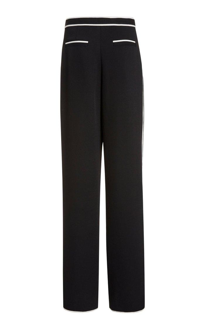 Rumpled Piqué Pajama Pants