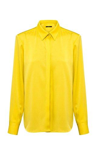 Kristen Satin Crepe Shirt