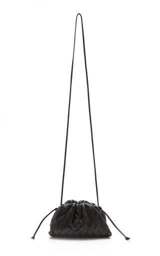 The Mini Pouch Intrecciato Leather Clutch