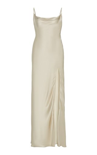 Chase Silk-Satin Slip Dress