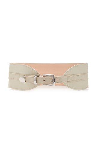 Twill Wide Waist Belt