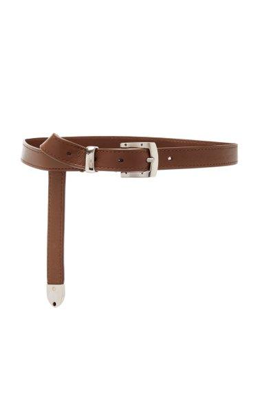Skinny Leather Belt