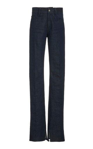 Stretch High-Rise Skinny-Leg Jeans