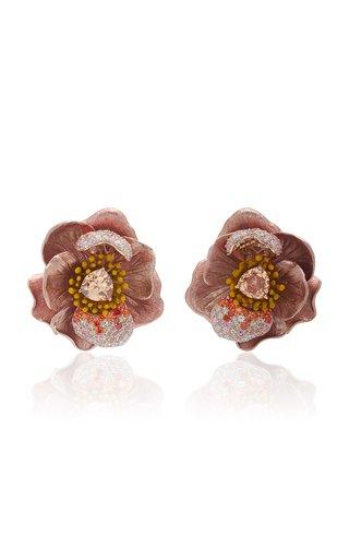 Bloom 18K Yellow Gold Multi-Stone Earrings