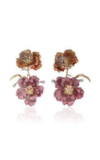 Rose Magnolia Earrings