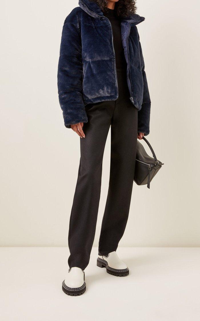 Billie Faux Fur Puffer Coat