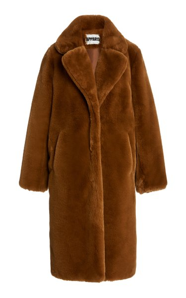Siena Faux-Fur Oversized Coat
