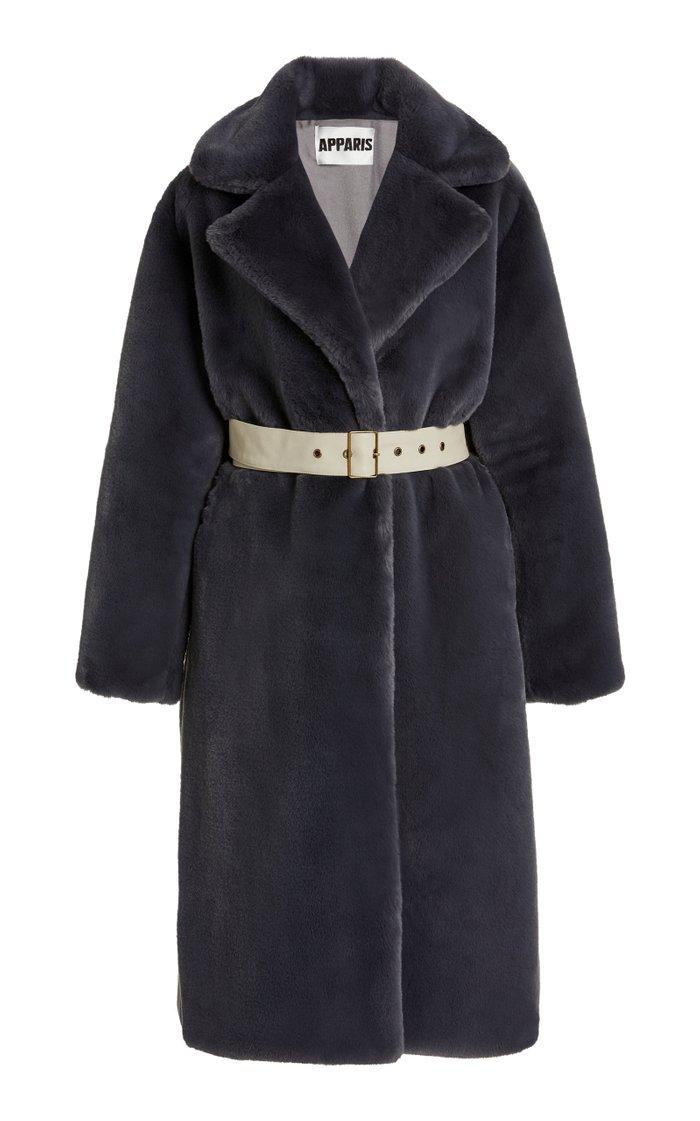 M'O Exclusive Nina Faux Fur Coat