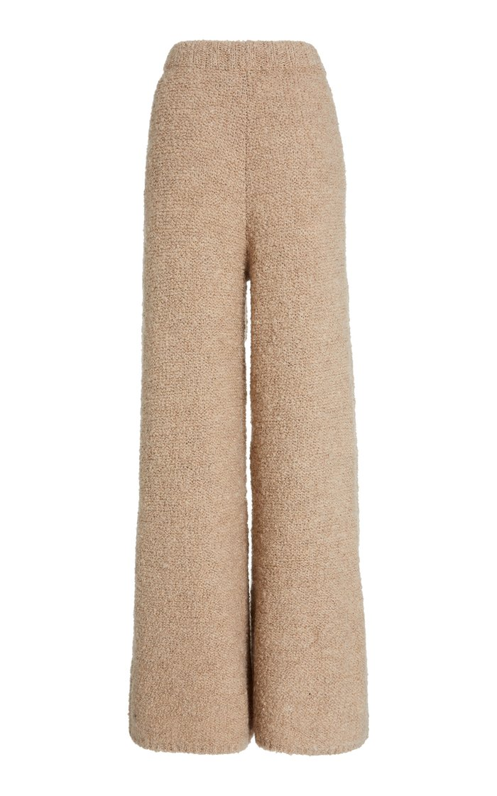 Chong Knitted Wide-Leg Pants