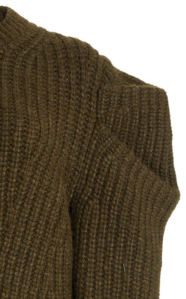 Daphne Ribbed-Knit Alpaca-Blend Sweater
