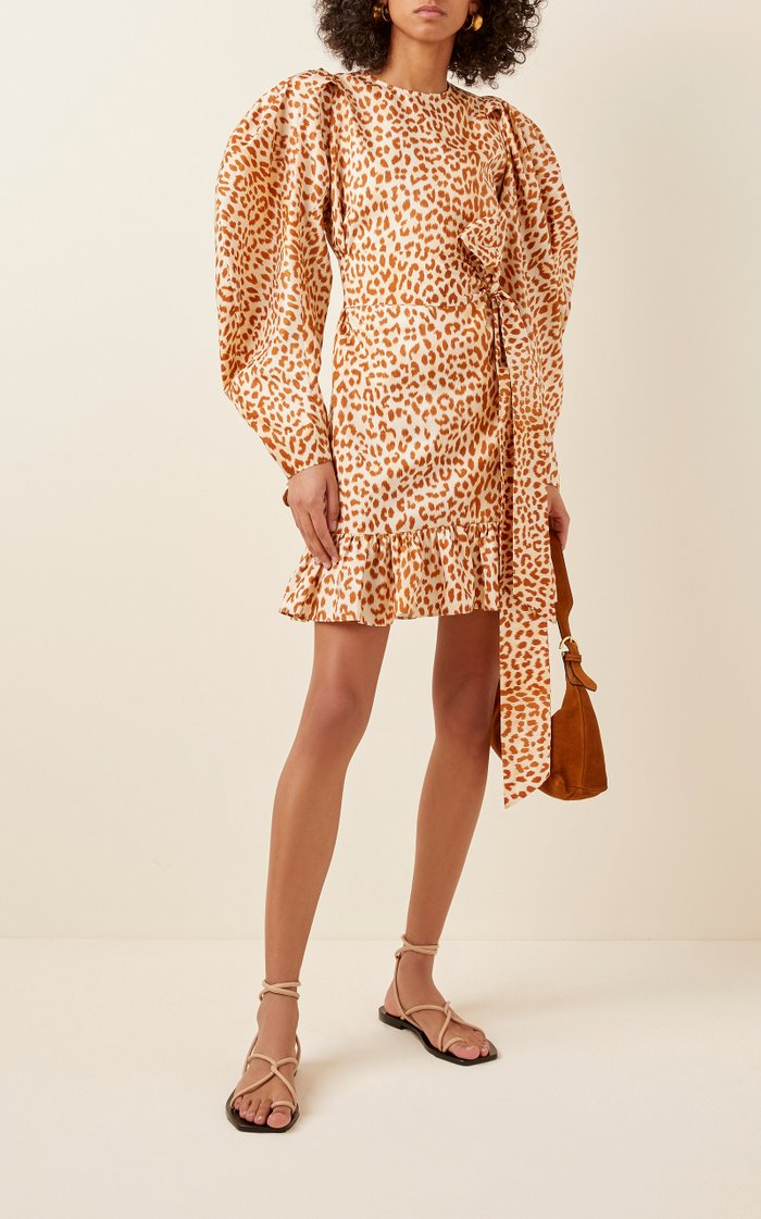 Rosaria Printed Crepe Dress