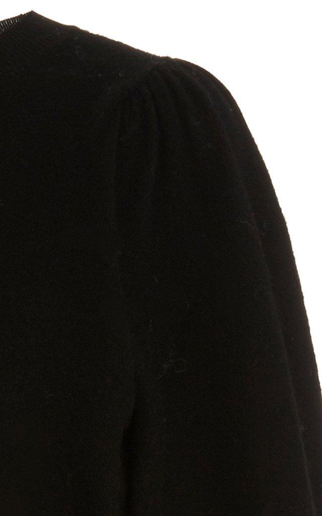 Rubi Draped Wool Sweater