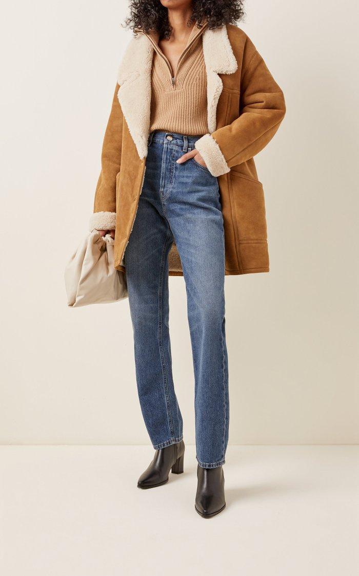 Noelle Shearling Coat