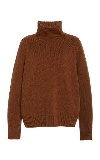Lanie Cashmere Turtleneck Sweater