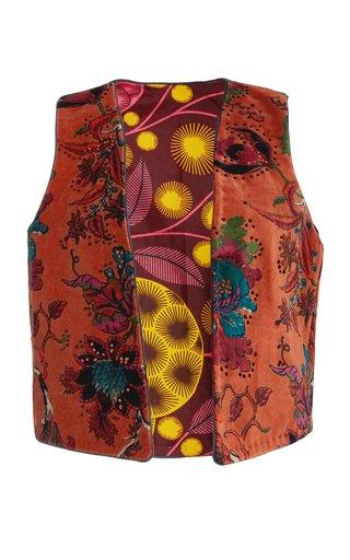 Schoolboy Cinnamon Velvet Waistcoat