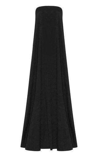 Delfina Strapless Jersey Maxi Dress