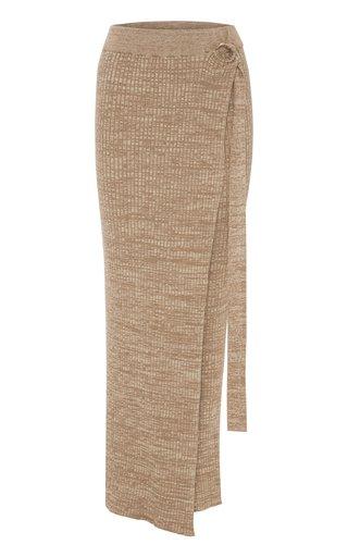 Matilde Cotton Wrap Skirt