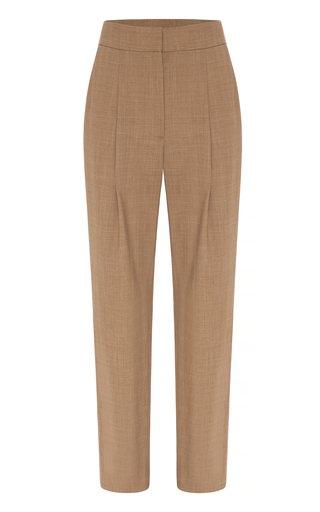 Tate Wool-Blend Cropped Pants